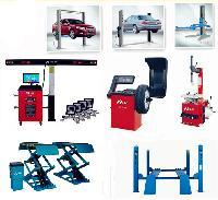 Automotive Maintenance And Accessories Shop Car Bike