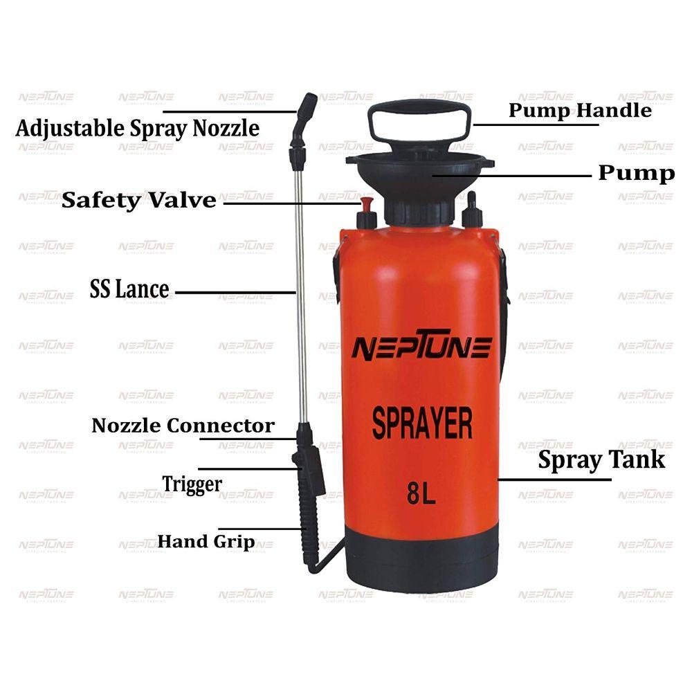 Neptune NF 8 0 Hand Sprayer Capacity 8 Litre