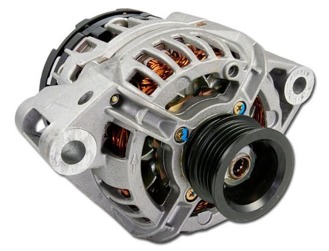 Lucas - TVS Ashok Leyland SA28-24V-55A Alternator 26021258