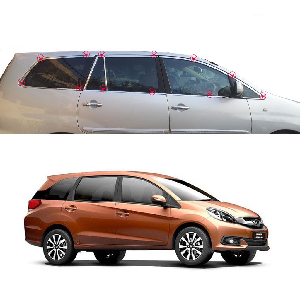 Buy Honda Mobilio Car Full Window Garnish Trim Online In India At