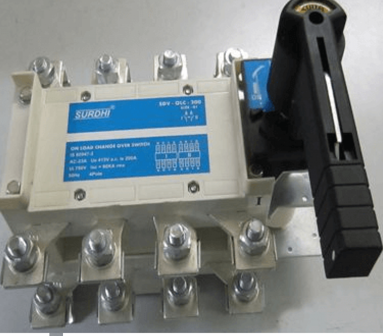 L&T Changeover Switch 4 Pole 125A 415V CO21250OSOO