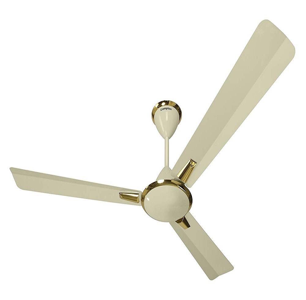 Buy Crompton Aura 1200 mm 3 Blades Ivory High Speed Ceiling Fan ...