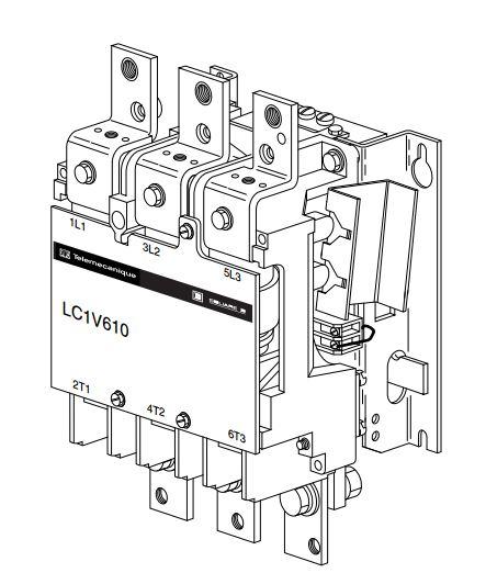 Buy Schneider Lc1v610fe7 630 A 1no1nc Vacuum Contactor Online In