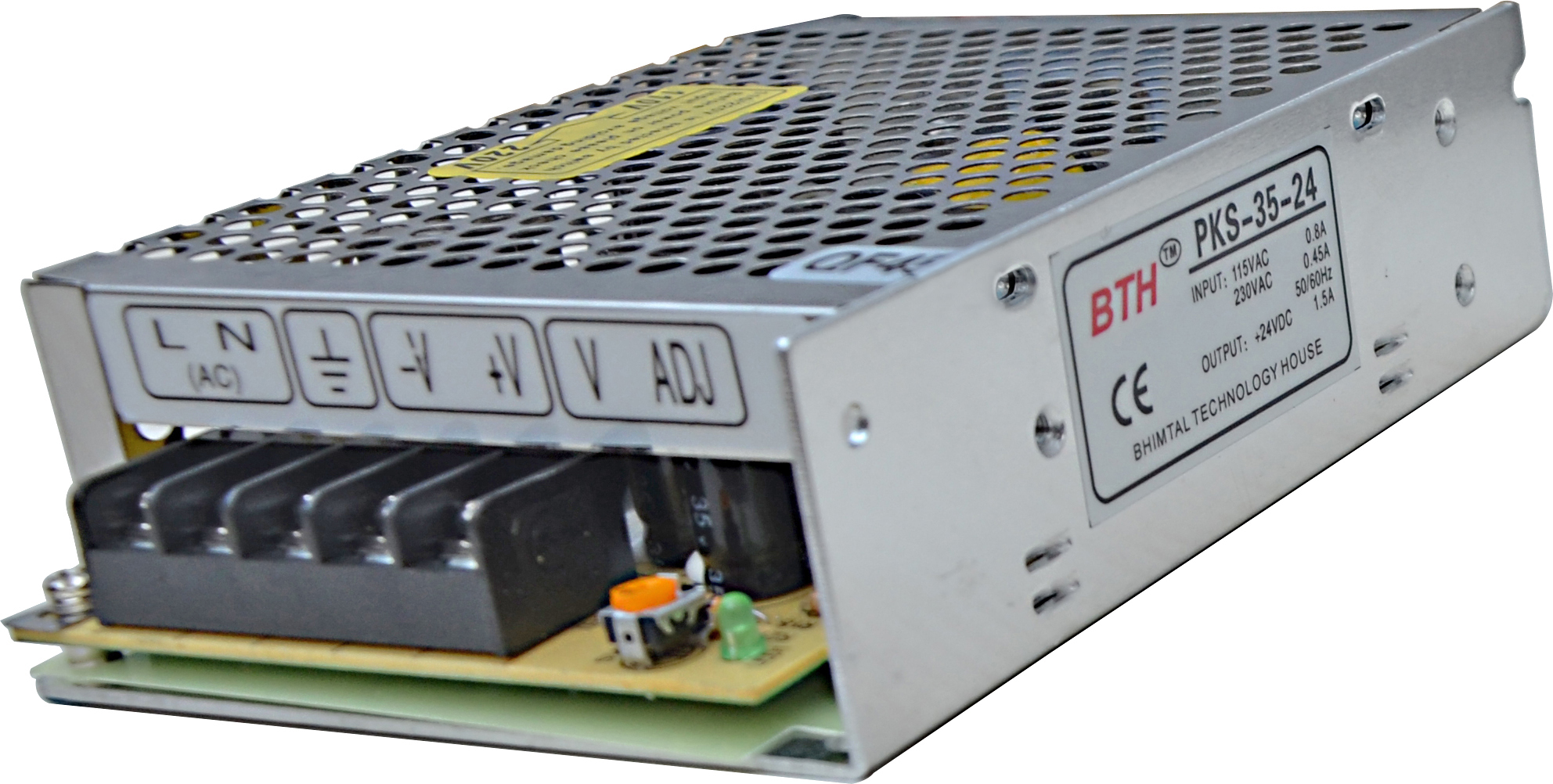 Buy Bth Dc Single Output Smps Pks 35 24 Online In India At Best Prices 24v Power Supply 18a