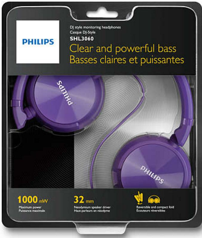 a926644754d Buy Philips Purple Headphone SHL3060PP Online in India at Best Prices