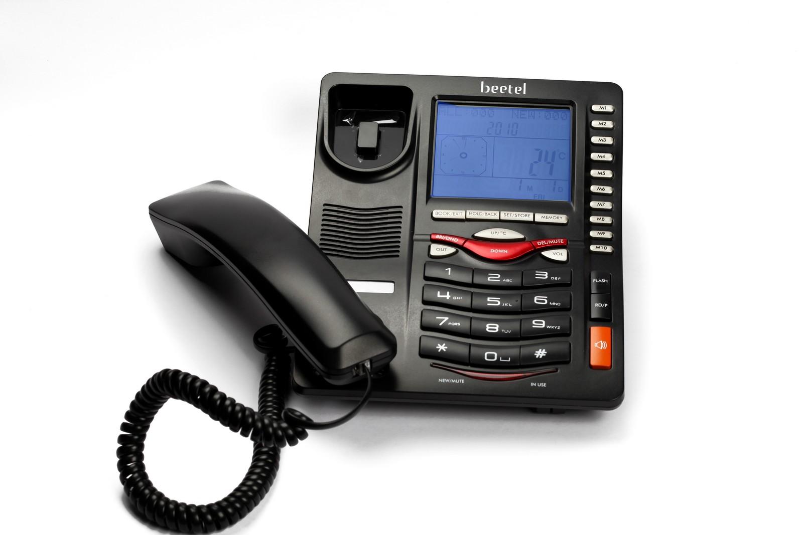 31680ba334d Buy Beetel Corded Landline Phone (Black) - M75 Online in India at Best  Prices