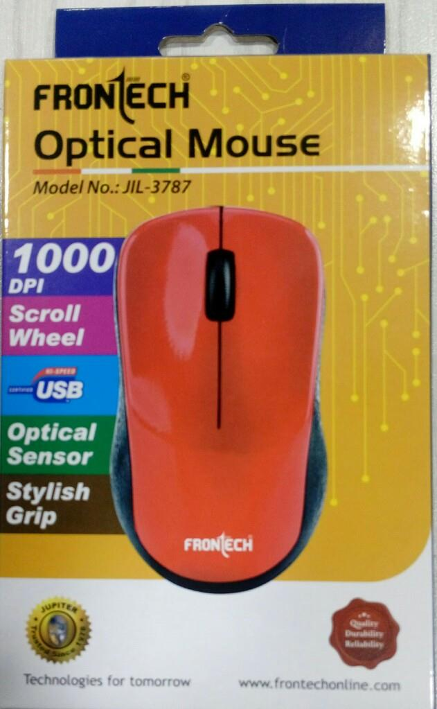 358fbdaad4b Buy Frontech Optical Mouse (JIL - 3787) Mouse Online in India at Best Prices