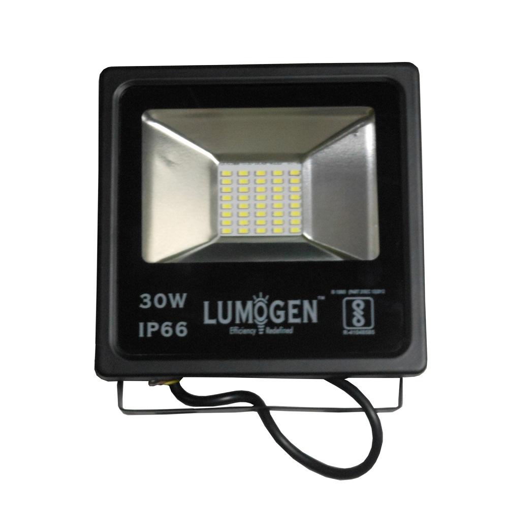 Buy Lumogen 30 Watt Smd Led Flood Light Warm White Heavy Duty Online