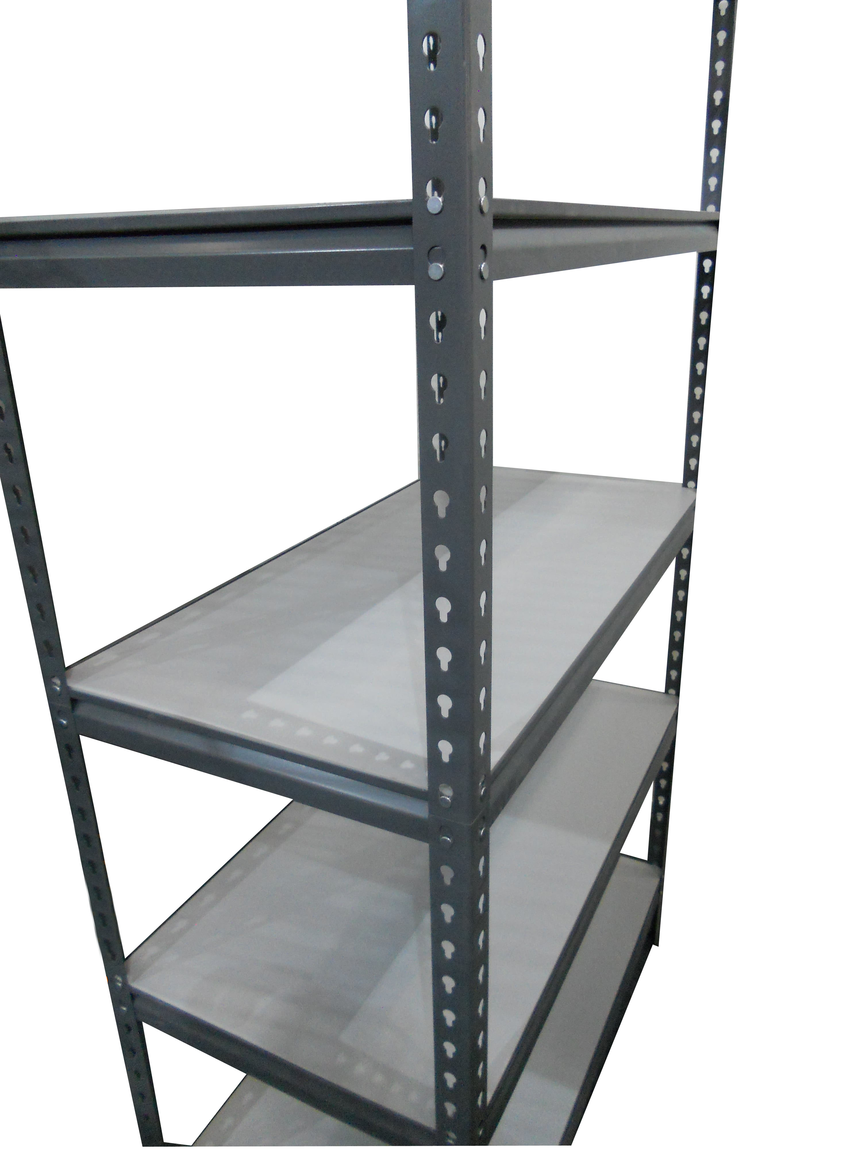 Saras M S Powder Coated Boltless Storage Rack Load Capacity 350 Kg