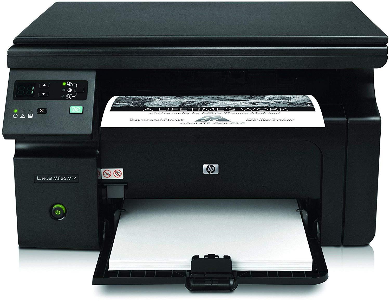 HP M1136 LaserJet Pro Multifunction Printer