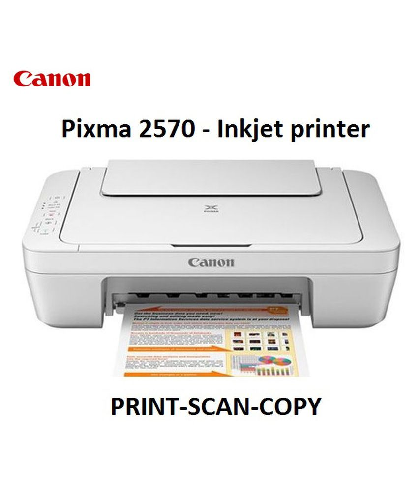 Canon MG2570 Multi Function Colour Inkjet Printer (Ink Cartridge)