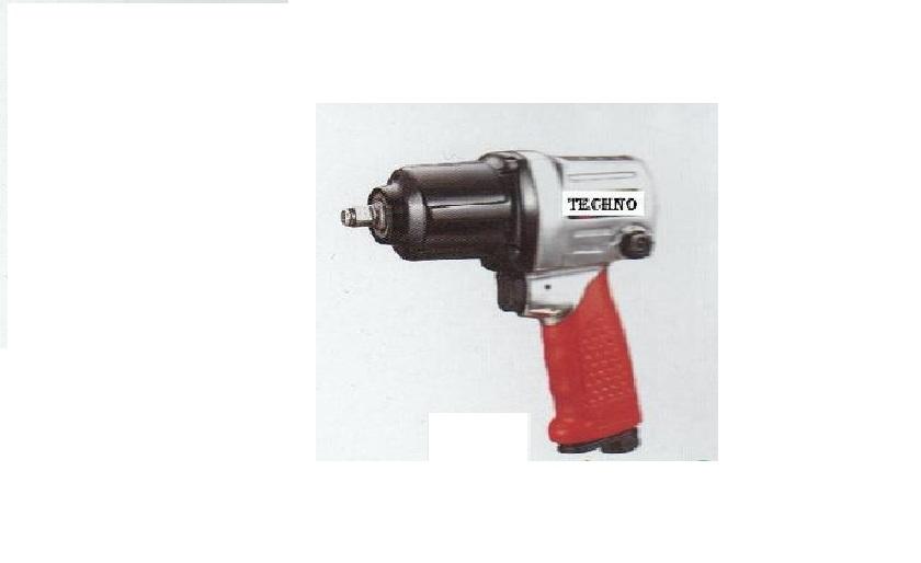 Techno PAT 104 1/2 Inch 7000 RPM Heavy Duty Air Impact Wrench