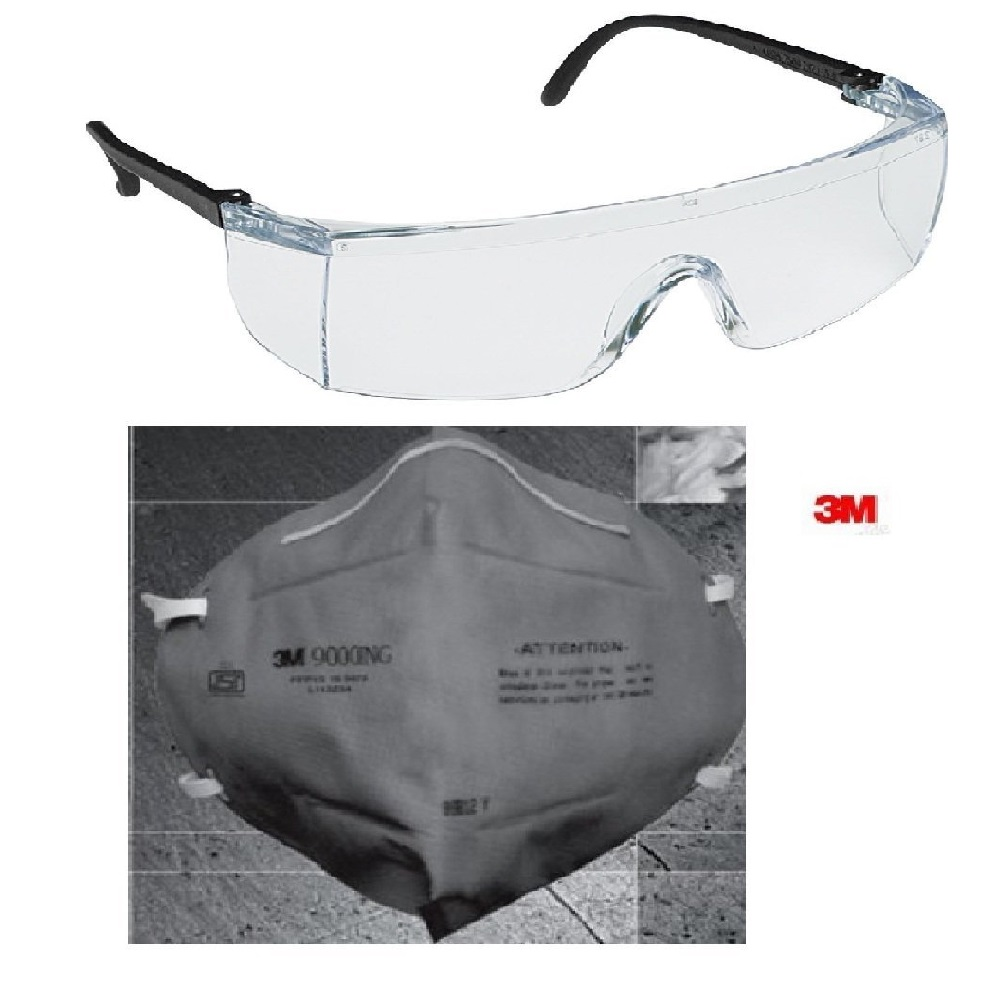 9c5f375eb1 Buy 3M 28246 Full Eye Cover Bike Riding Goggles With Anti Pollution Face  Mask Online in India at Best Prices