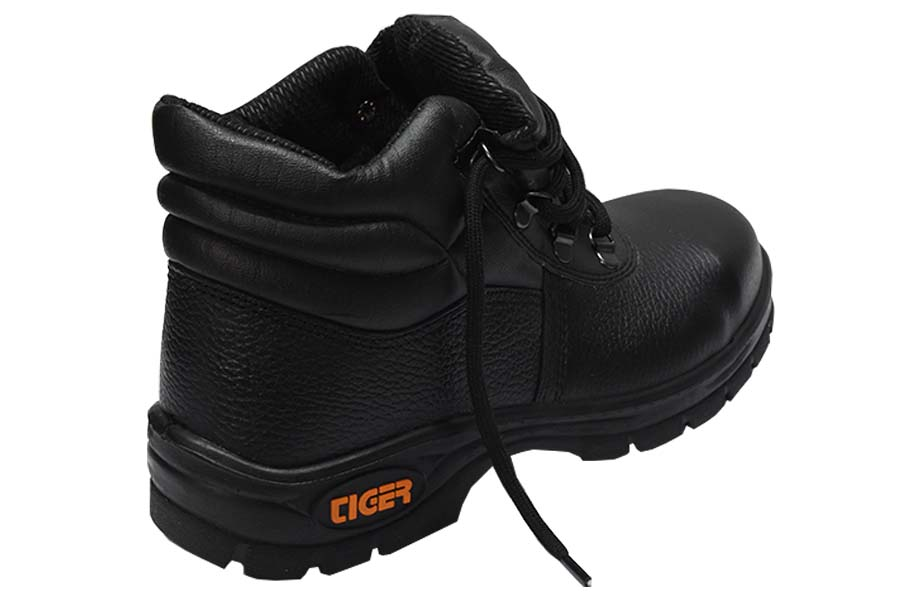 ba362df417d6 Buy Tiger-by Mallcom Leopard S1BG High Ankle Steel Toe Safety Shoes Size: 9  Online in India at Best Prices
