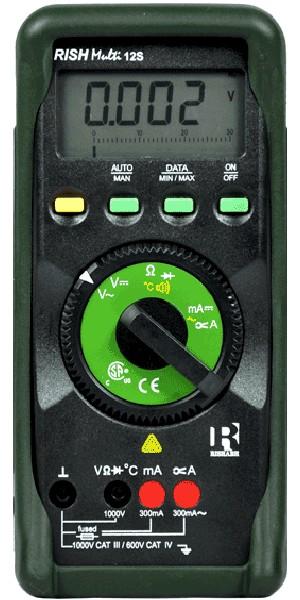 Rishabh multi 12S Digital Multimeter (AC Volt 1mV to 1000V)