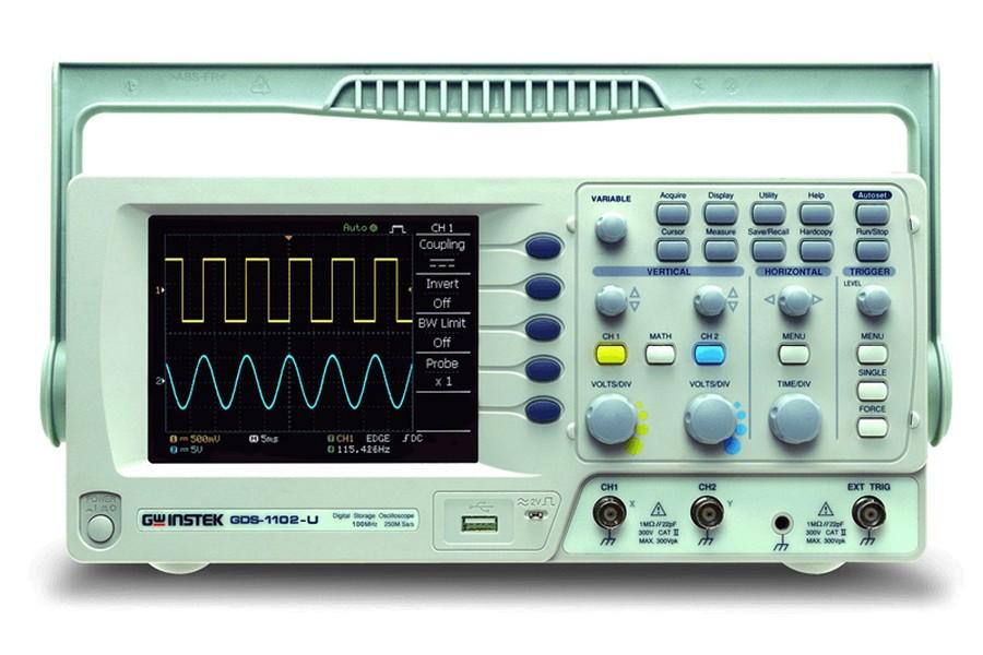 Cathode Ray Oscilloscope : Gw instek