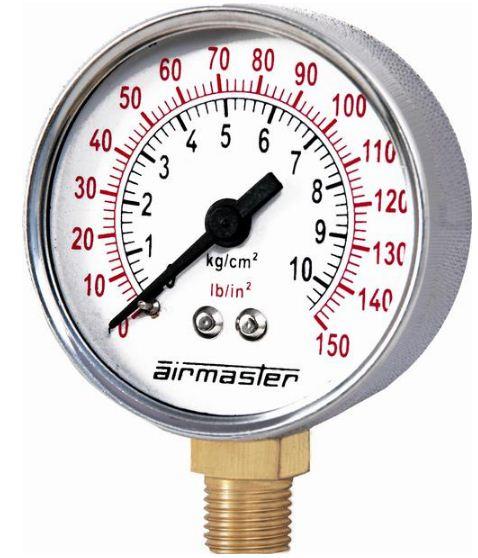 Airmaster 4-70 kg/cm² 50 mm S Steel Economy Pressure Gauge