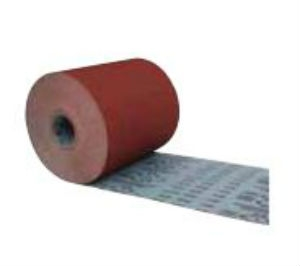 Carborundum 80g Aloxite Resin Metal Cloth Rolls 50m X 38mm