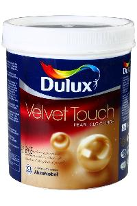 Dulux Velvet Touch Pearl Glo Paint Brilliant White 4 Litre 30-50/6000