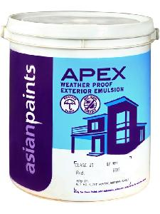 Asian Paints Apex 1 Ltr Ming Red Exterior Emulsions