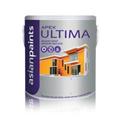 Asian Paints 4 Ltr Brilliant White Apex Ultima Exteriors