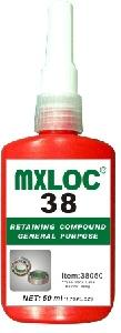 Mxloc 38 Anaerobic Adhesives Green Liquid 50 Ml