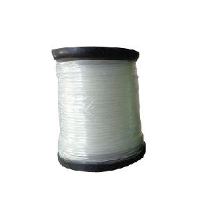 Green Kraft Nylon Round Brush Cutter Trimmer Wire White 55 Metre