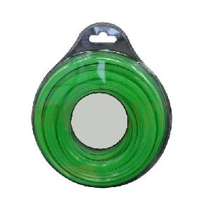 Green Kraft Nylon Square Brush Cutter Trimmer Wire Green 55 Metre