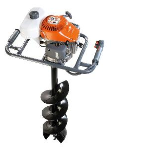 Mahendra 52cc Gasoline Engine Earth Auger / Hole Digger With Drill Bit