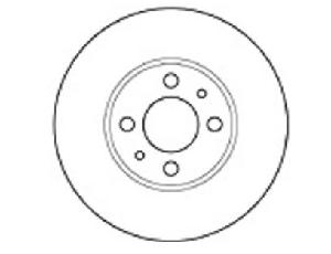Mapco Brake Disc Pad For Fiat Punto/Linea 15031