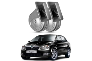Gk Trumpet Twin Tone Horn For Skoda Rapid