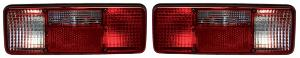 Lumax Tail Lamp Assembly (Set Of 2) 4 Chamber For New Tata 1210