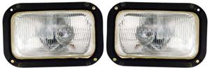 Lumax Head Lamp Assembly (Set Of 2) For Tata 407/608