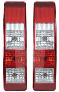 Lumax Tail Lamp Assembly (Set Of 2) W/O Gasket Mfr For Tata Sumo