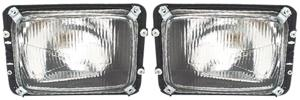 Lumax Head Lamp Assembly (Set Of 2) W/O Motor For Force Tempo Traveller