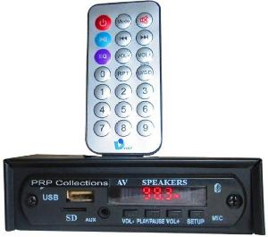 Prp Collections Prp-550bt Car Stereo (Single Din)