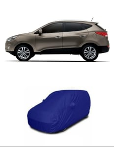 Oscar Car Cover Blue And Grey For Hyundai Tucson