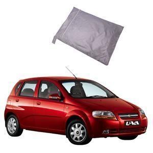 Buy Oscar Aveo Uva Car Cover Silver For Chevrolet Aveo Online In