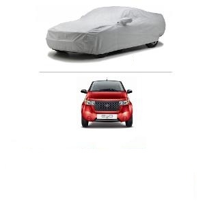Oscar Car Cover Silver For Mahindra E2o