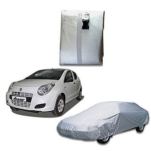 Oscar Car Cover Silver For Maruti Suzuki A-Star