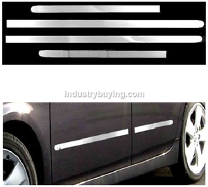 Honda Brio Chrome Car Side Beading Set Of 4
