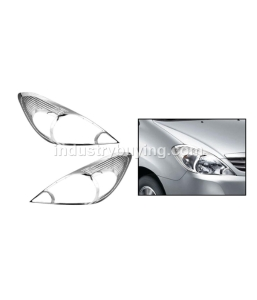 Prius Chrome Head Lamp Moulding For Hyundai I 10 Type Ii