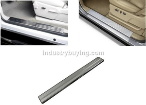 Oscar Door Sill Scuff Plate Foot Step Blue Led For Nissan Sunny