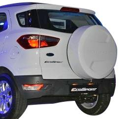 Ford Ecosport Stepney Cover Diamond White Color Oscar
