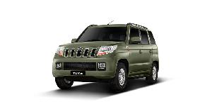 Mahindra Tuv300 Stepney Cover Bronze Green