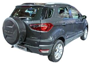 Ford Ecosport Stepney Cover Smoke Grey Abs Material Premium Quality