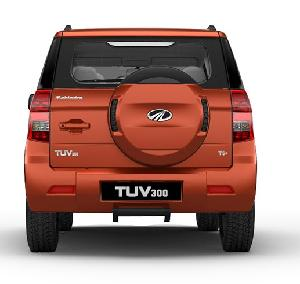 Mahindra Tuv300 Stepney Cover Molten Orange