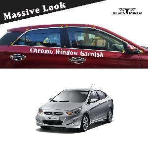 Buy Hyundai Verna Fluidic Car Full Window Garnish Trim Online In