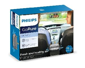Philips Gopure Compact 110 Air Purifier For Car (Grey)
