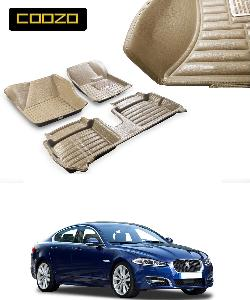 Coozo 5d Car Mat For Jaguar Xf Beige Color